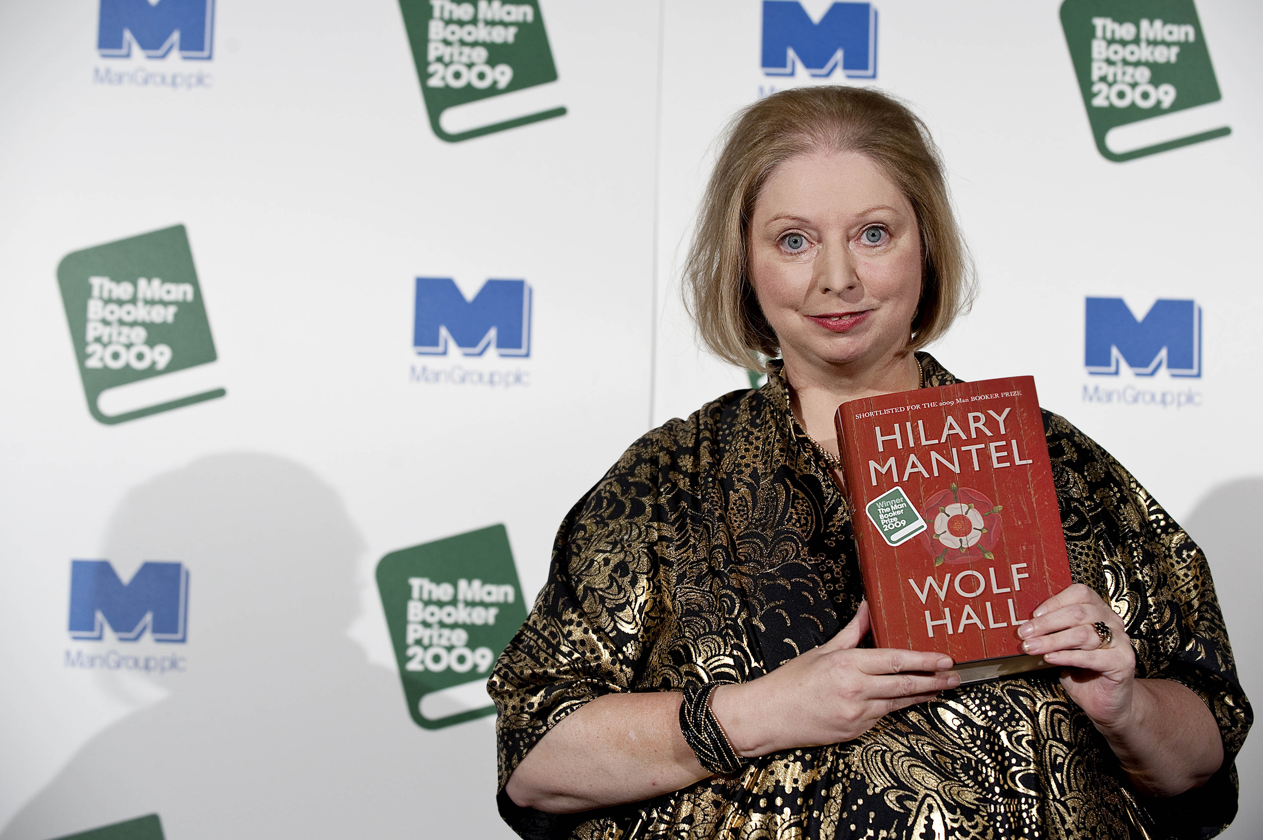 British author Hilary Mantel is pictured