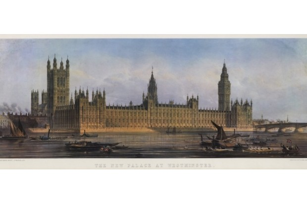 Westminster Palace, 1851