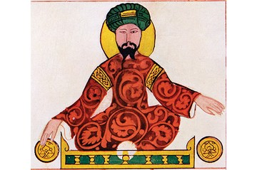 Saladin, seen in a 12th-century portrait, led Muslim opposition to the crusaders and united much of the Middle East. (Photo by Ann Ronan Pictures/Print Collector/Getty Images)