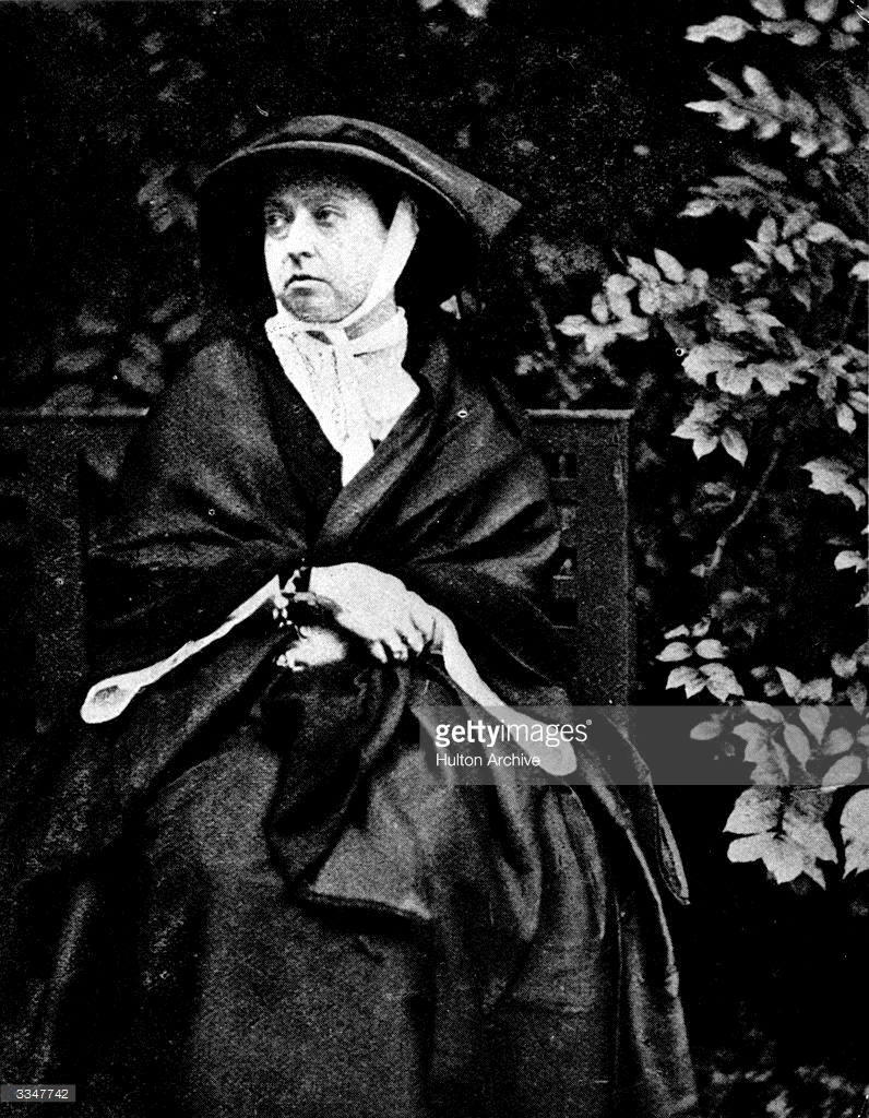 Victoria in mourning (Getty Images)