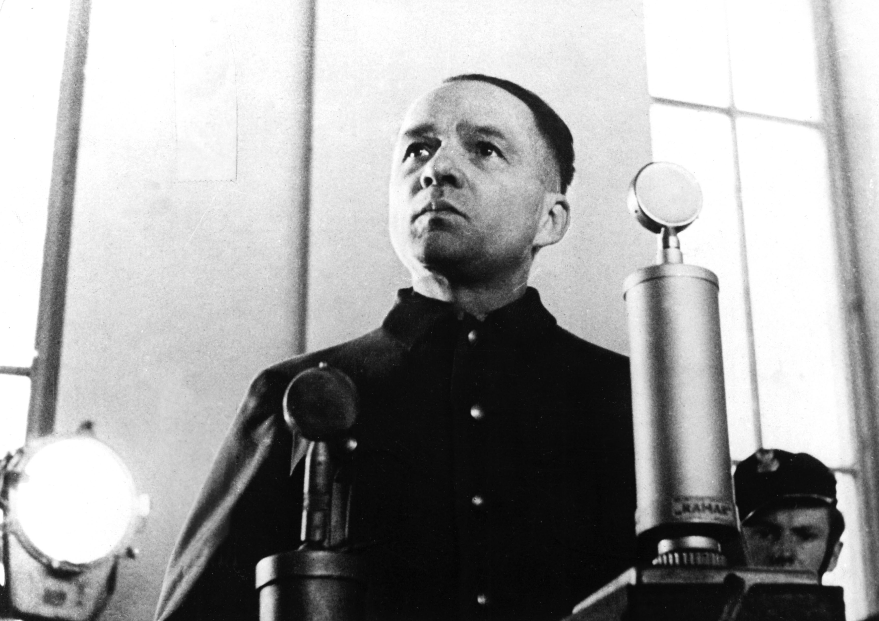 Rudolf Hoess During His Trial In Warsaw
