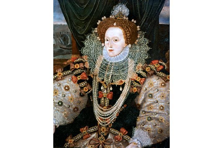 Elizabeth I, Queen of England and Ireland, c1588. Artist: George Gower