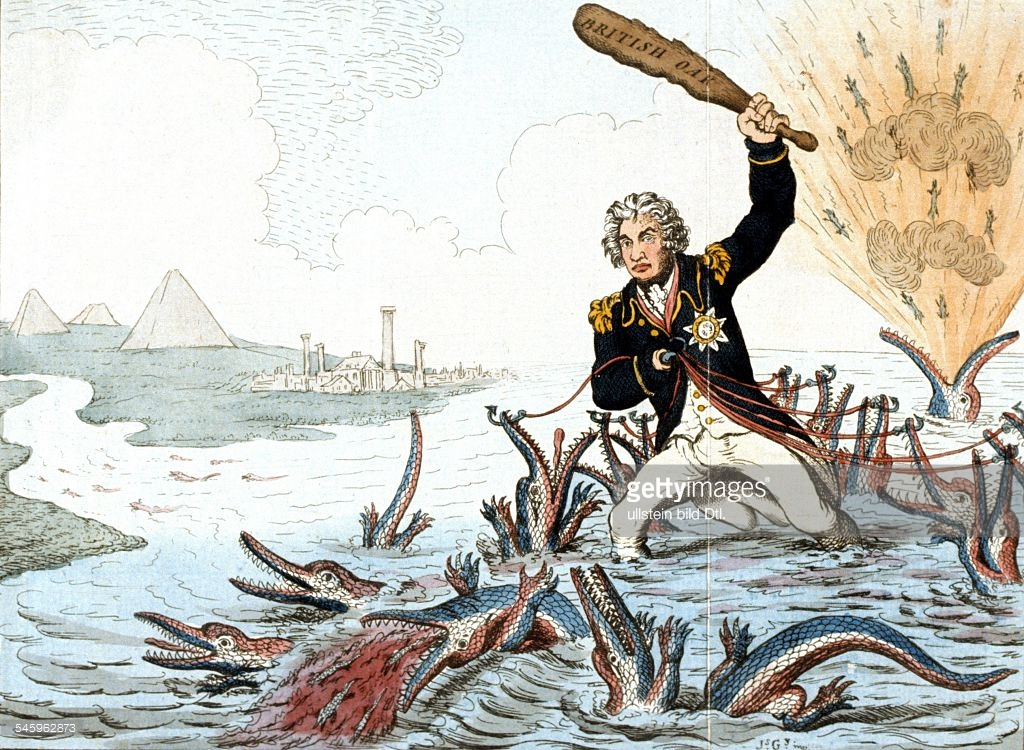 Lord Nelson Caricature Horatio Nelson