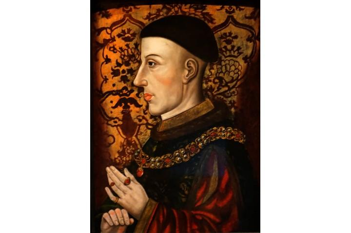 Portrait of Henry V of England