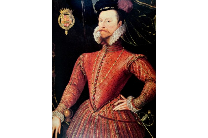Portrait of Robert Dudley, 1st Earl of Leicester (1532-1588) an English nobleman. Dated 16th Century. (Photo by: Universal History Archive/UIG via Getty Images)
