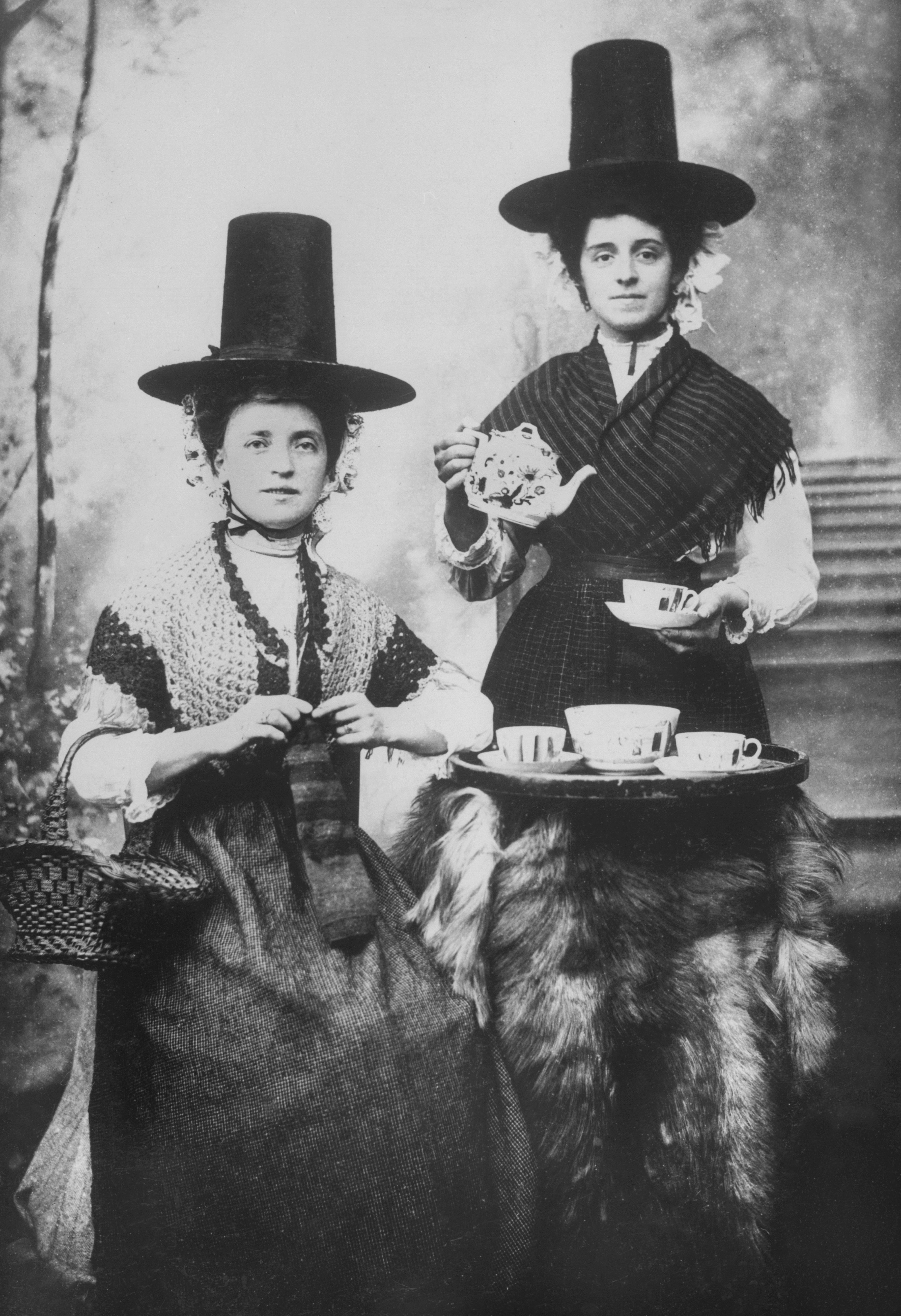 Women in Traditional Welsh Dress
