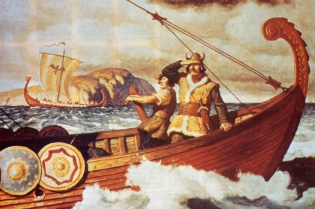 Viking Longship On The Water