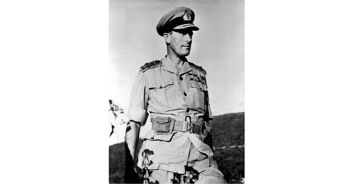 Admiral Lord Louis Mountbatten in Burma, March 1944. (Photo by Roger Viollet/Getty Images)