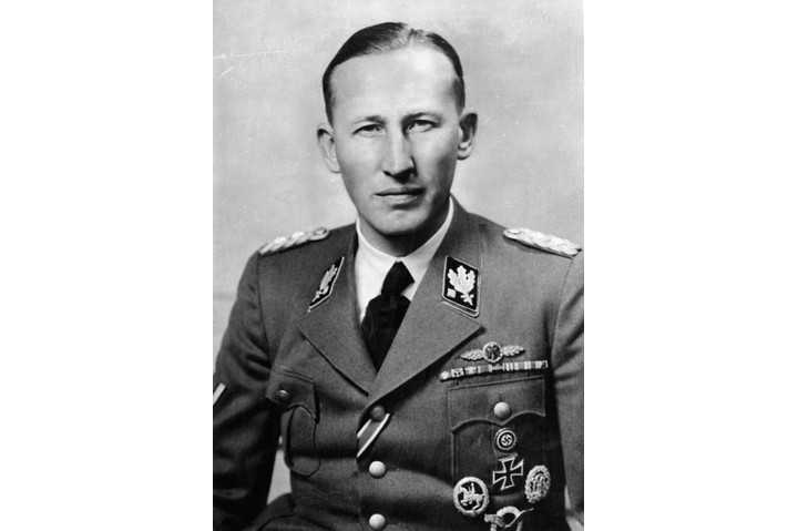 (Eingeschränkte Rechte für bestimmte redaktionelle Kunden in Deutschland. Limited rights for specific editorial clients in Germany.) REINHARD HEYDRICH /n(1904-1942). German Nazi officer and chief of the Gestapo. Photographed in the uniform of an SS-Obergruppenfuhrer, 1941. (Photo by ullstein bild/ullstein bild via Getty Images)