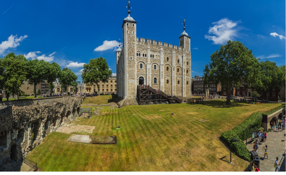 Tower of London, view of the White Tower (Getty Images)