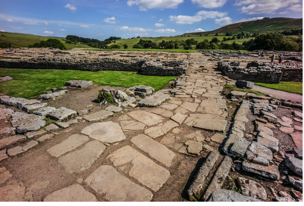 A Roman auxiliary fort just south of Hadrian's Wall