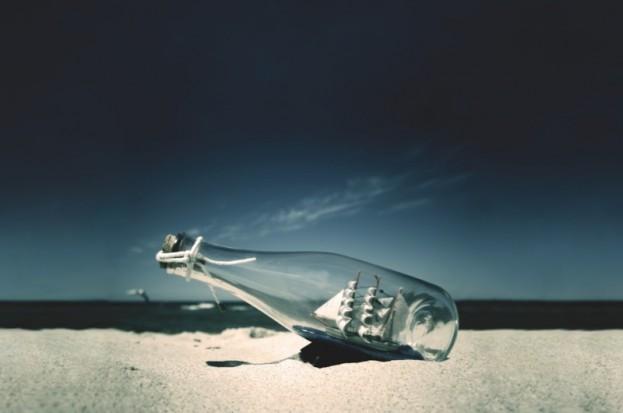 Ship in a bottle (Dreamstime)