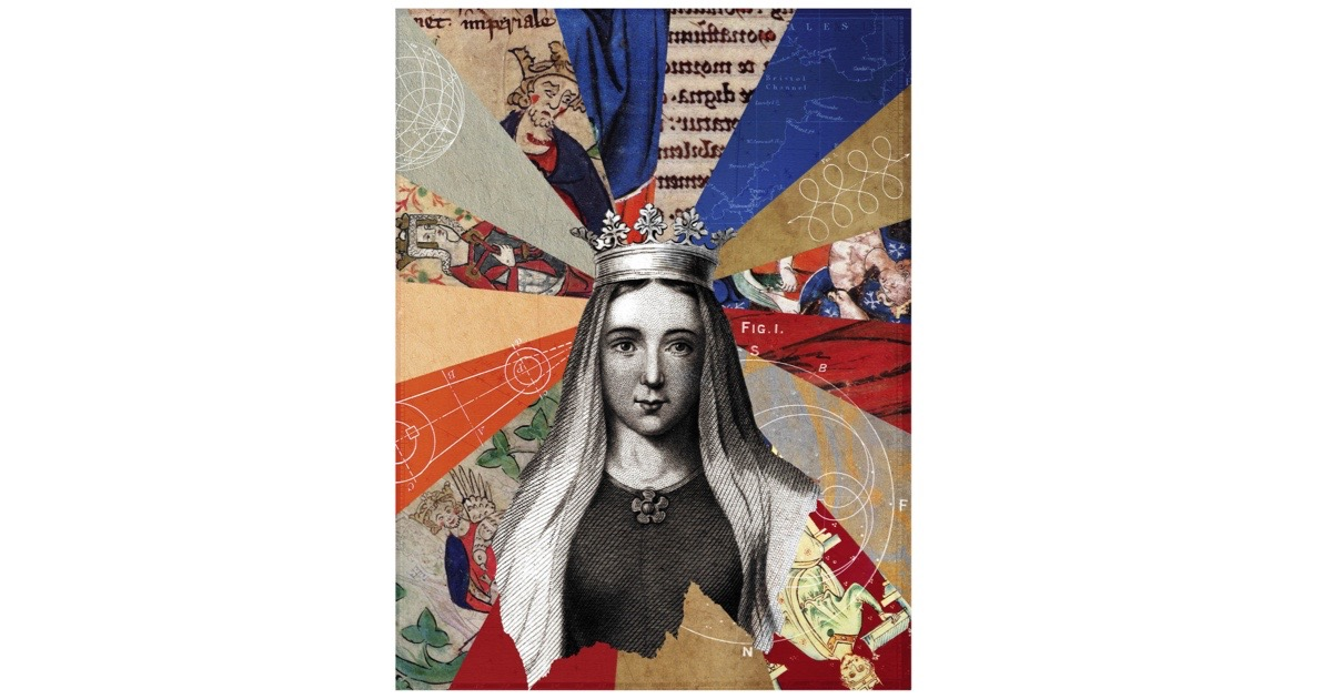 Illustration of Queen Matilda of Boulogne, by Eleanor Shakespeare