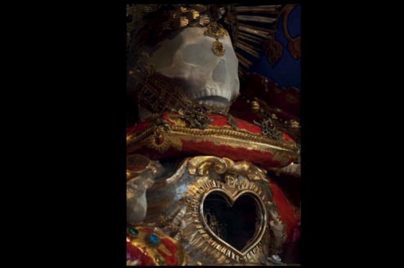 St Felix jewelled skeleton