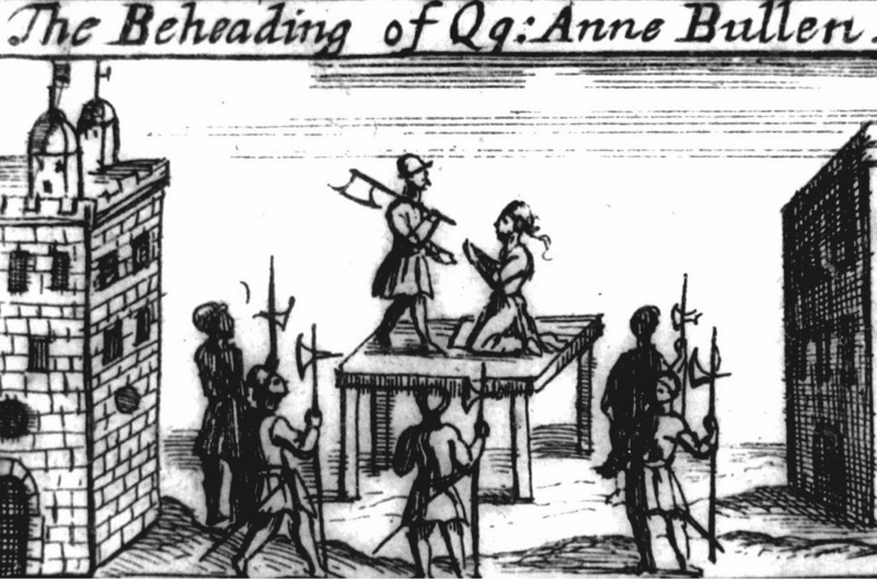An 18th-century illustration depicts Anne's execution. (Getty)