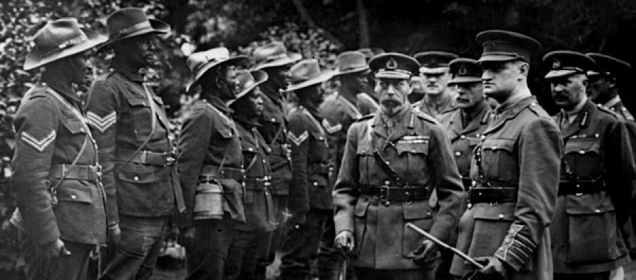 SANLC members meeting King George V
