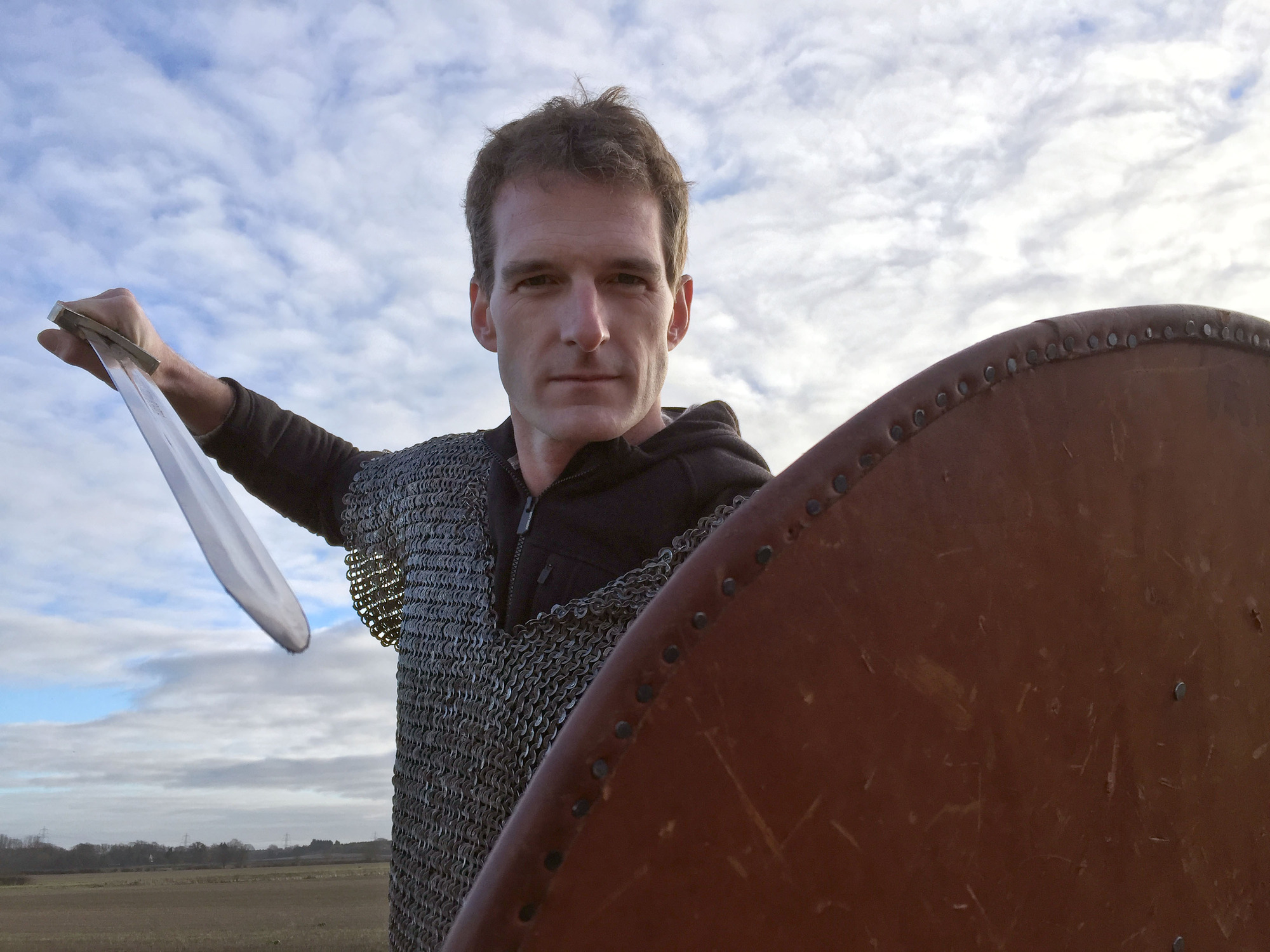 Programme Name: 1066: A Year to Conquer England - TX: n/a - Episode: 1066: A Year to Conquer England  - generics (No. Generics) - Picture Shows:  Dan Snow - (C) BBC - Photographer: Production