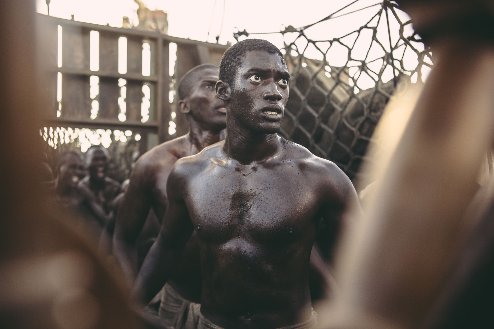 Programme Name: Roots - TX: 08/02/2017 - Episode: n/a (No. 1) - Picture Shows: Kunta Kinte (MALACHI KIRBY) - (C) A+E - Photographer: Unknown