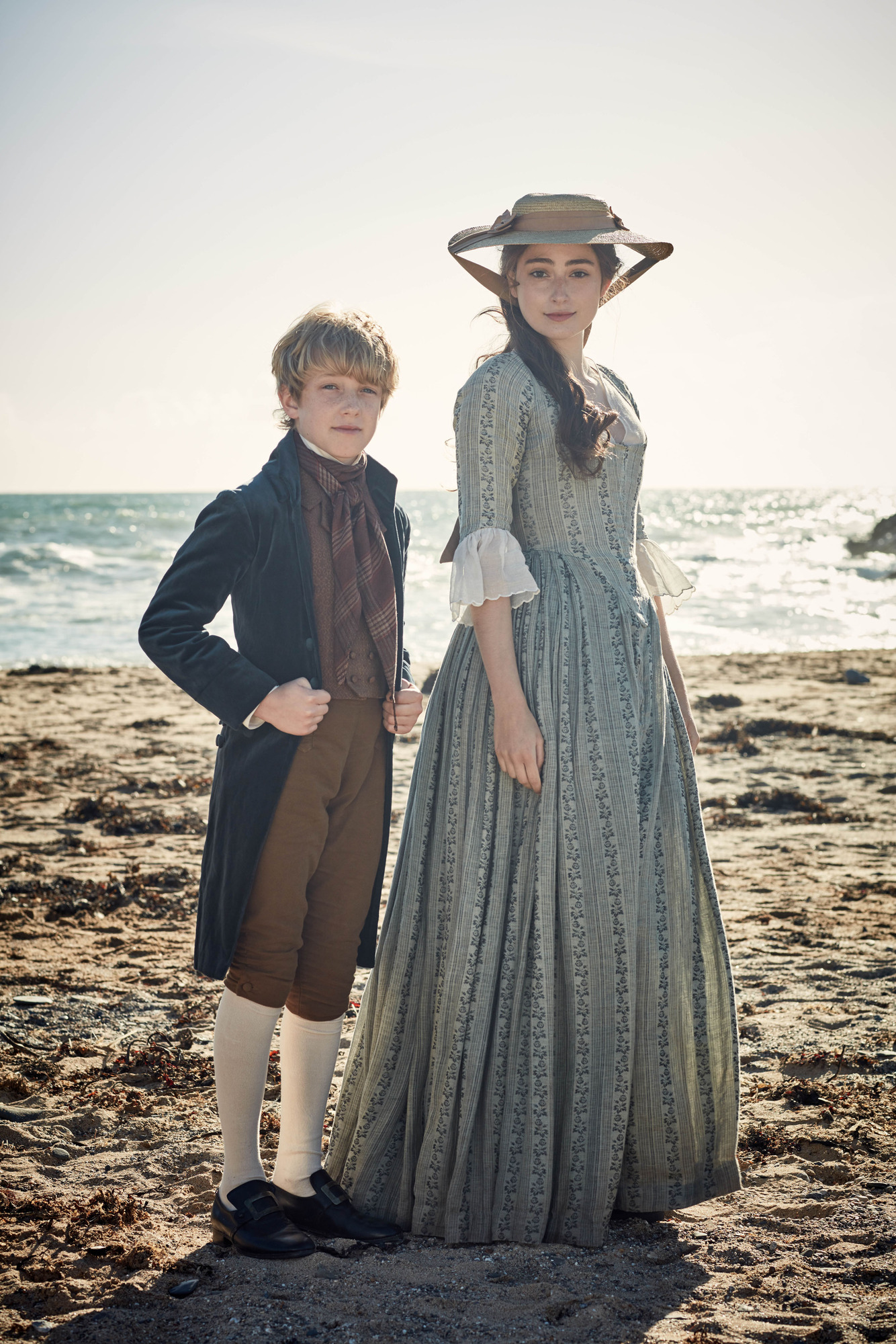 WARNING: Embargoed for publication until 00:00:01 on 06/06/2017 - Programme Name: Poldark S3 - TX: n/a - Episode: Poldark S3 - Episode 1 (No. 1) - Picture Shows: **STRICTLY EMBARGOED UNTIL TUESDAY 6TH JUNE** Harry Marcus (GEOFFREY CHARLES) , Morwenna Chynoweth (ELLISE CHAPPELL) - (C) Mammoth Screen - Photographer: Robert Viglasky