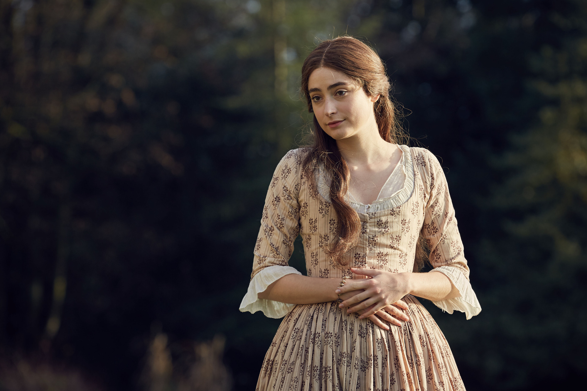 WARNING: Embargoed for publication until 00:00:01 on 27/06/2017 - Programme Name: Poldark S3 - TX: n/a - Episode: Poldark S3 - Episode 4 (No. 4) - Picture Shows: ++PUBLICATION OF THIS IMAGE IS STRICTLY EMBARGOED UNTIL 00.01 HOURS TUESDAY JUNE 27TH, 2017++ Morwenna Chynoweth (ELLISE CHAPPELL) - (C) Mammoth Screen - Photographer: Robert Viglasky