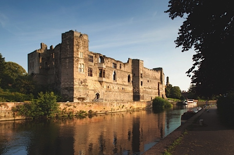 """Newark Castle flanked by the river Trent. To say that King John's death here in 1216 was little-lamented is something of an understatement. """"With John's foul deeds all England is stinking, as does hell, to which he is now sinking,"""" wrote the chronicler Matthew Paris. (Getty Images)"""