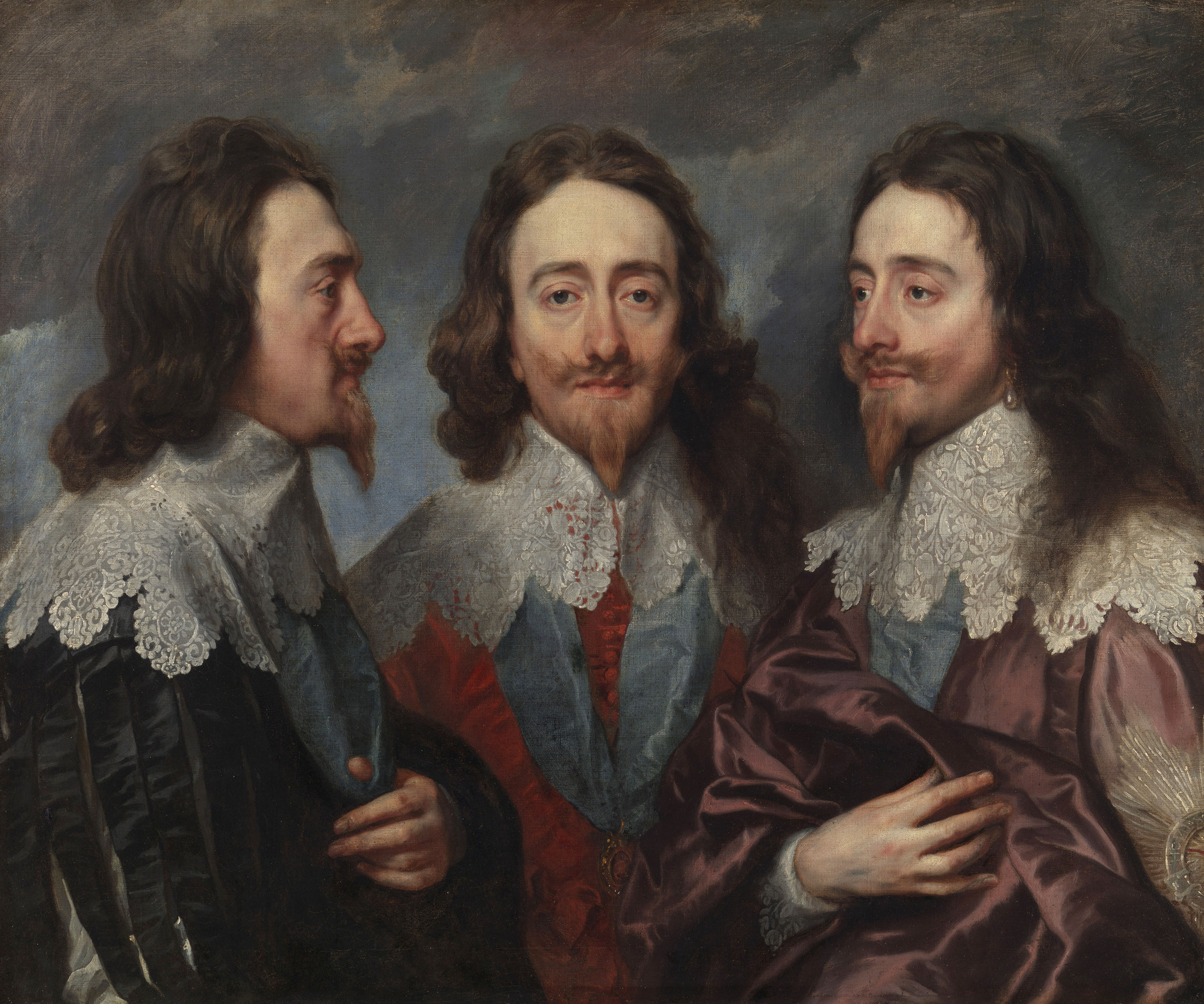 WARNING: Embargoed for publication until 00:00:01 on 09/01/2018 - Programme Name: Art, Passion & Power: The Story of the Royal Collection  - TX: 17/01/2018 - Episode: n/a (No. 1) - Picture Shows: Charles I by Sir Anthony van Dyck, 1635-before June 1636.  ***Image for use once and only in connection with the BBC Four series 'Art, Passion & Power: The Story of the Royal Collection'.  Not for editing, archive or resale.***  - (C) Royal Collection Trust/© Her Majesty Queen Elizabeth II 2017 - Photographer: Royal Collection Trust