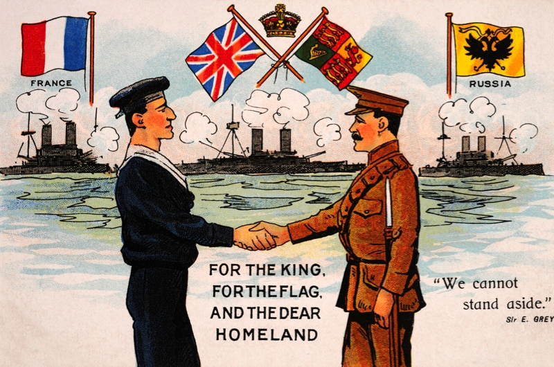In WW1, what did the Allies want to achieve?