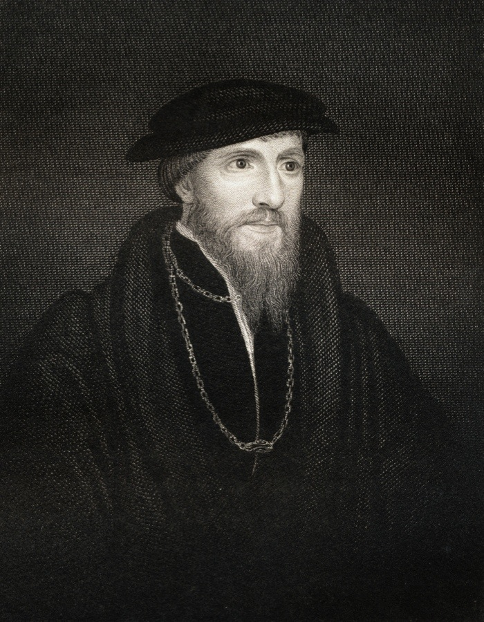 UNSPECIFIED - CIRCA 1800: Sir Anthony Denny 1501-1549. Close confident of Henry VIII Proponent of Protestant reform at court. From the book 'Lodge's British Portraits' published London 1823. (Photo by Universal History Archive/Getty Images)