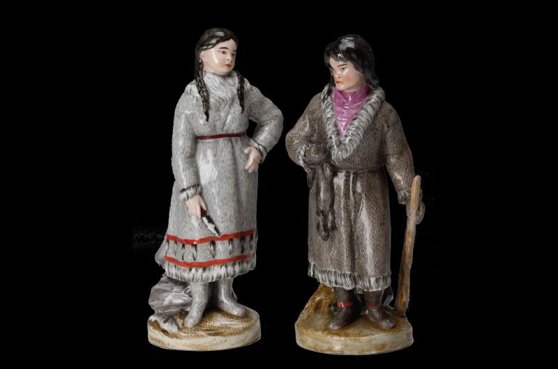 Figurines called 'peoples of Russia'
