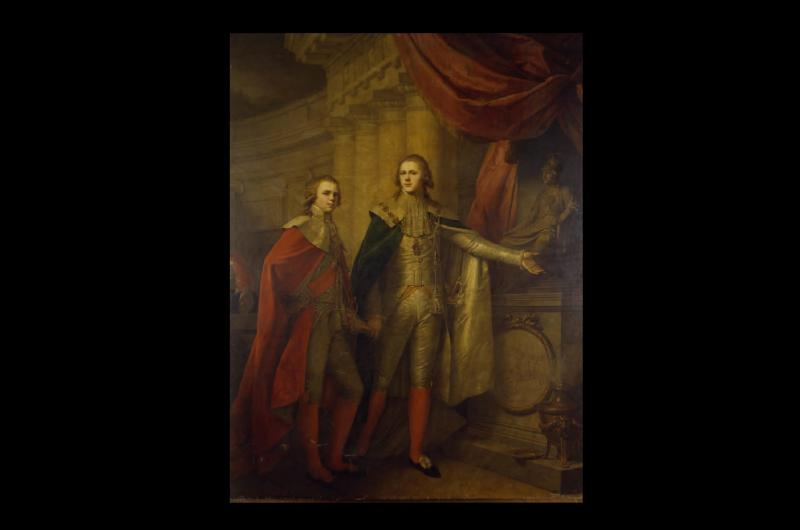 A portrait of the two grandsons of Alexander the Great
