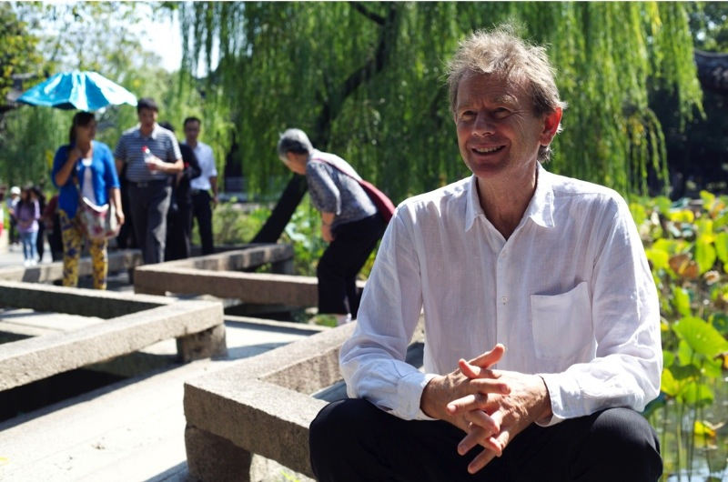 Programme Name: Story of China - TX: n/a - Episode: The Story of China - generics (No. Generics) - Picture Shows: ...in the Humble Administrator's Garden, Suzhou Michael Wood - (C) Maya Vision International - Photographer: Jeremy Jeffs