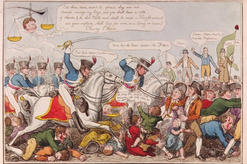 Desc: Manchester Heroes, Sept 1819 • Credit: [ The Art Archive / Eileen Tweedy ] • Ref: AA327714