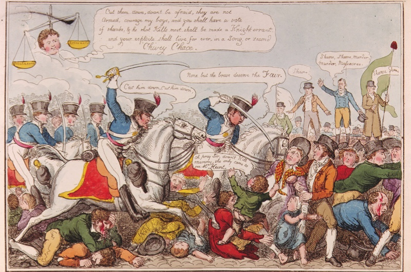Desc: Manchester Heroes, Sept 1819 • Credit: [ The Art Archive / Eileen Tweedy ] • Ref: AA327714