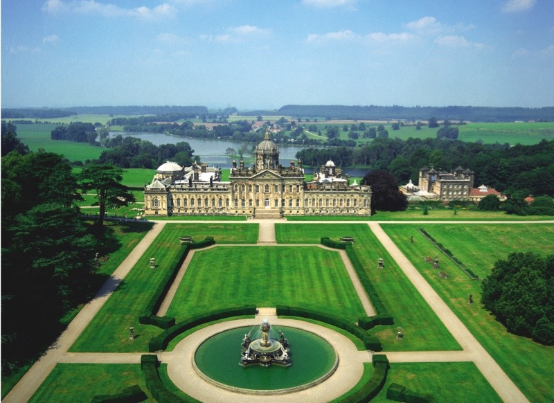 1699-1811, North Yorkshire, England, UK ---  and Castle Howard --- Image by © Skyscan/CORBIS