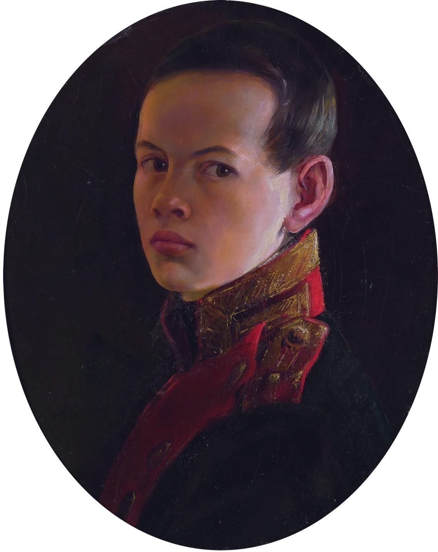 Portrait of the young Alexander Nikolaevich, by artist George Dawe. (Heritage Image Partnership Ltd/Alamy Stock Photo)
