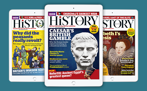 BBC History Magazine digital edition cover