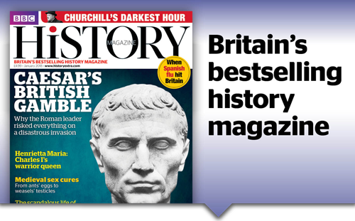Britains Best Selling History Magazine
