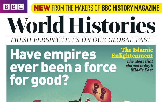 BBC World Histories Mag Issue 3 cover