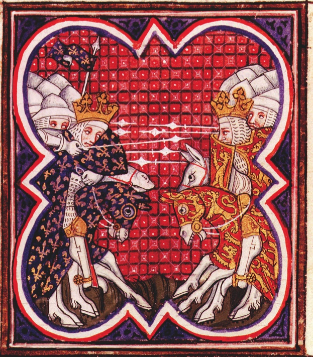 BFJPHA Battle of Poitiers, September 18, 1356, victory of Edward the Black prince, son of King Edward III of England, over Jean le...