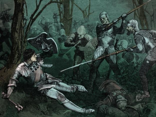 Battle of Barnet, 1471 - the death of Richard Neville
