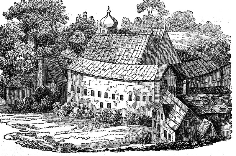 Bear Garden, Southwark, London, after its third rebuilding, 1648. By this time plays and prize-fighting had been added to the original entertainment of bear baiting. Woodcut based on a detail in the Bohemian etcher and engraver Wenceslas Hollar's (1607-1677) view of London. (Photo by Ann Ronan Pictures/Print Collector/Getty Images)