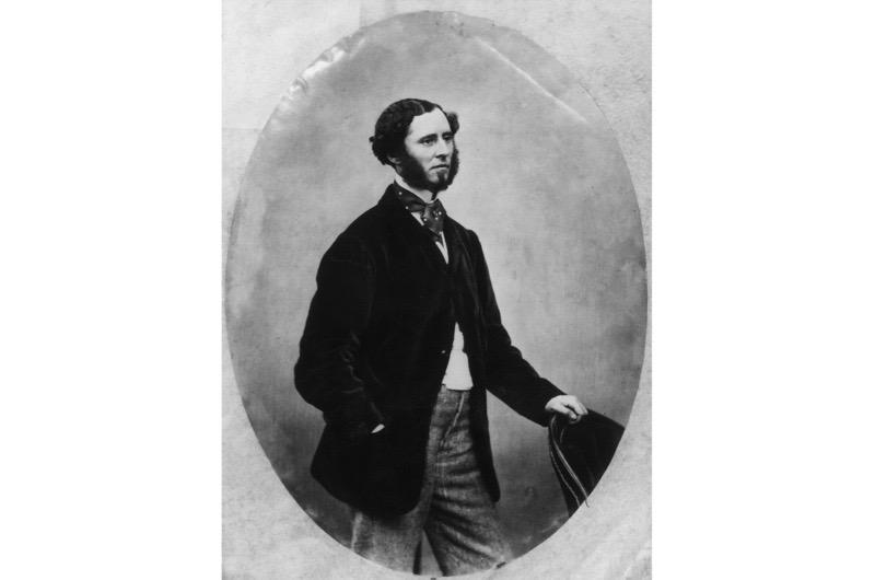 Bearded Victorian man.