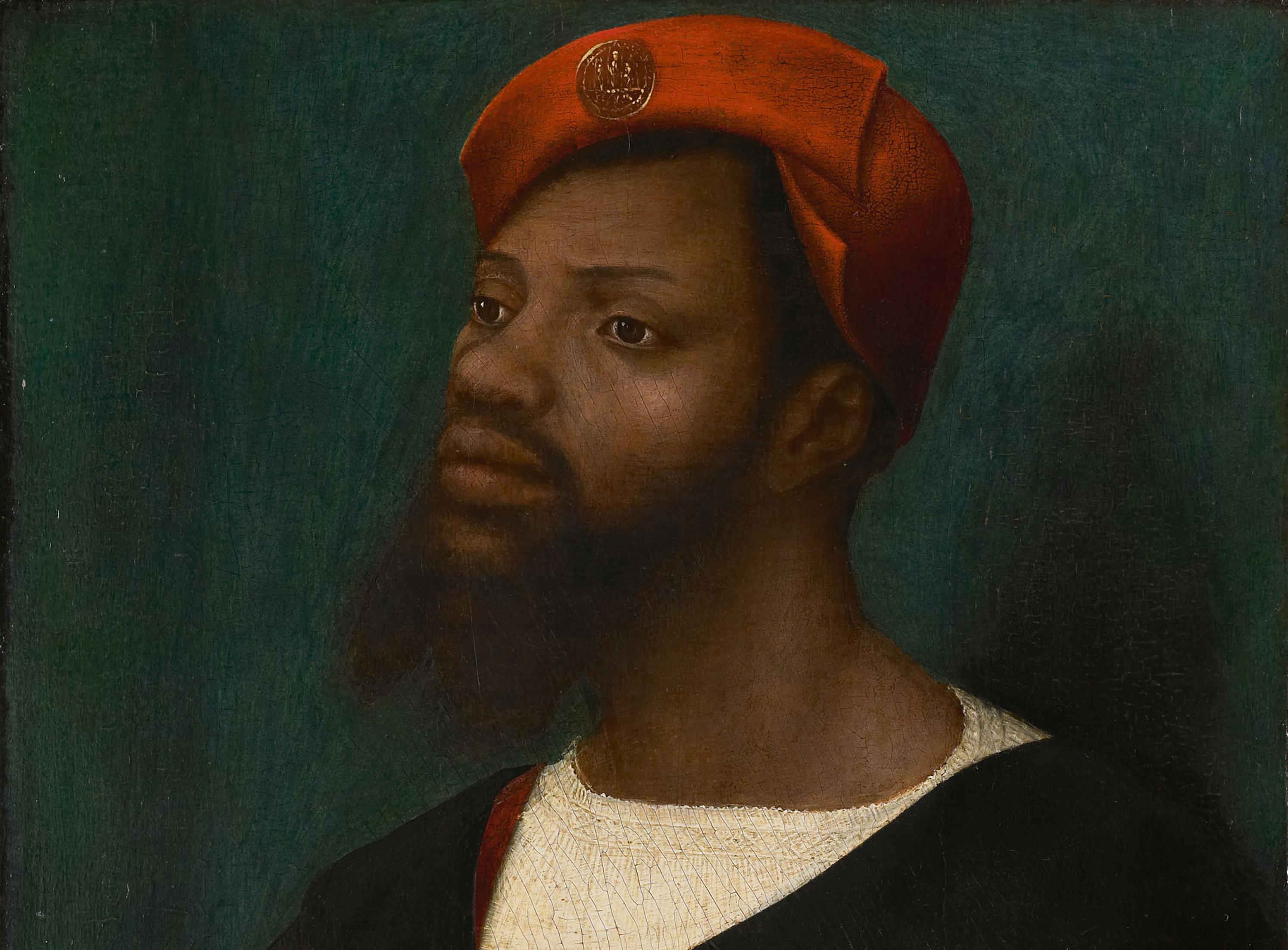 Portrait of an African man