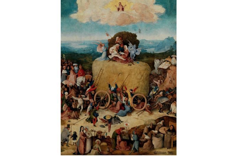 A painting by Netherlandish artist Hieronymus Bosch.