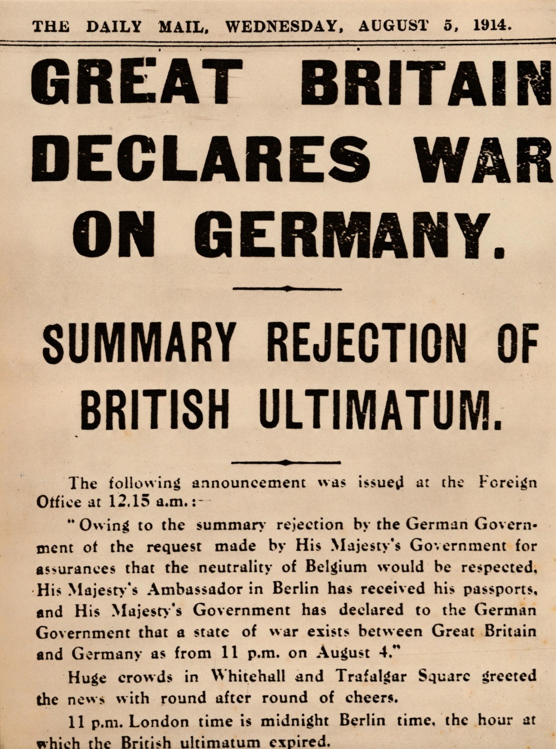Britain20declares20war20on20Germany2C2019142C20newspaper-4816f00