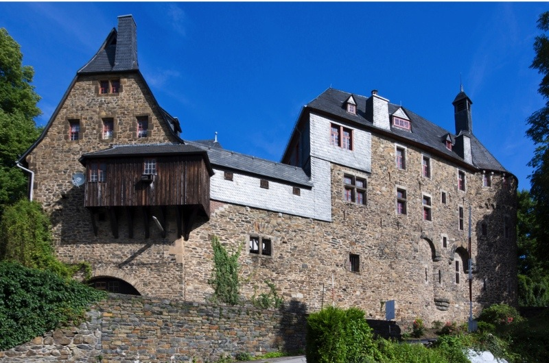 EH1GTF schloss burg castle, burg an der wupper, north rhine-westphalia, germany, europe