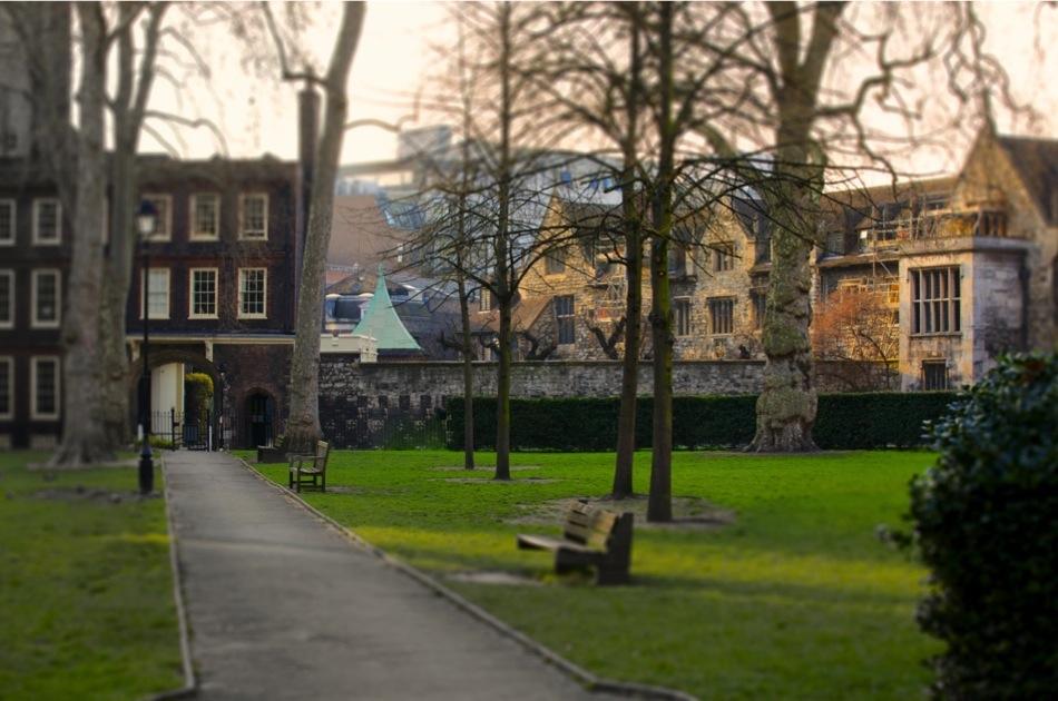E7318P Charterhouse Square, London, England, UK