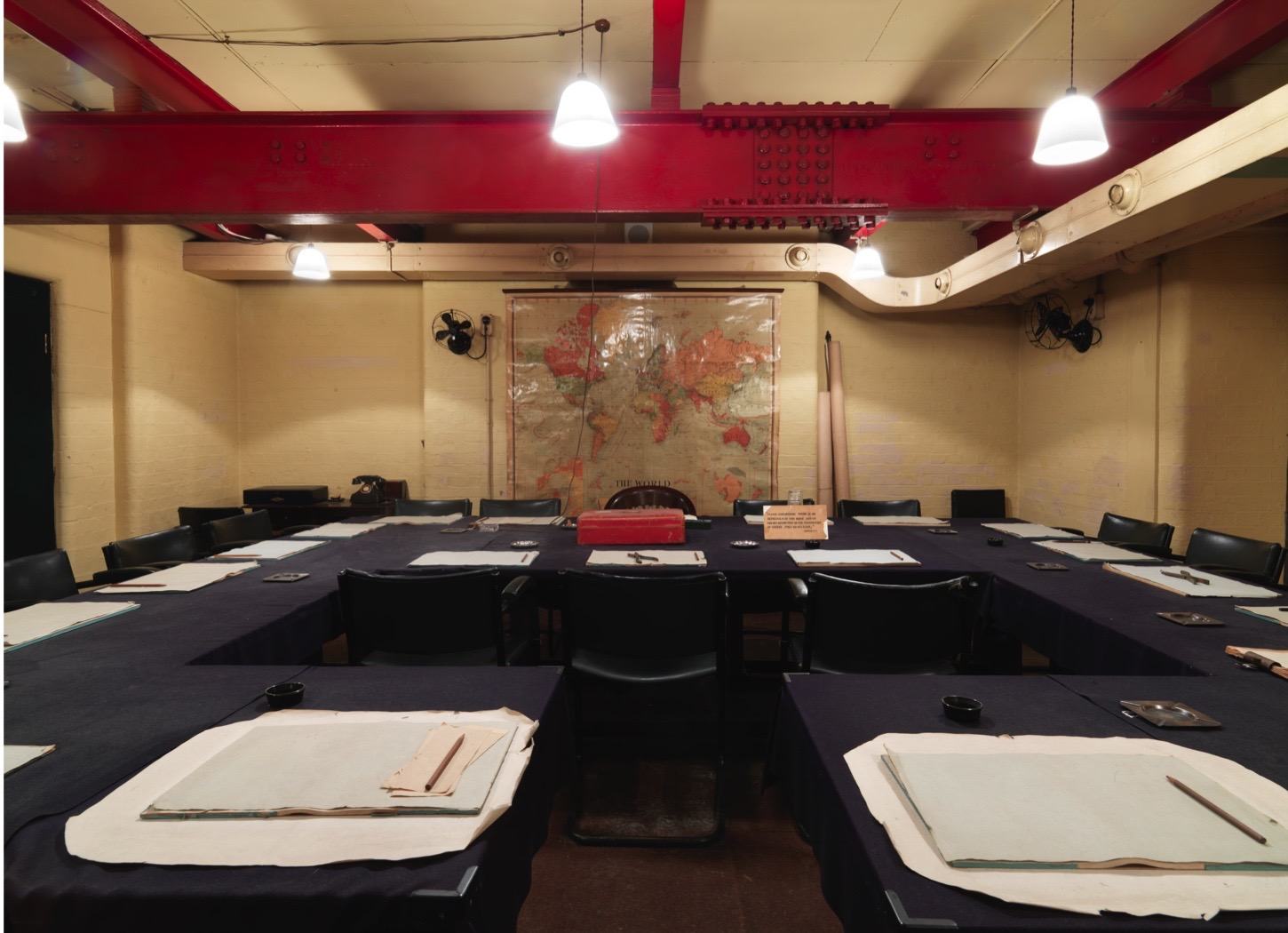 """Secrets of the Churchill War Rooms"" Book Project. Not to be used until the publication of the book."