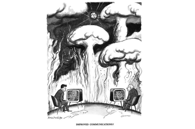 Punch cartoon depicting the Cold War