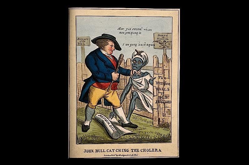 John Bull cartoon.